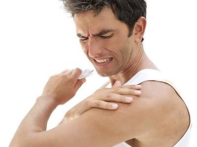Ушиб плеча при падении лечение в домашних условиях